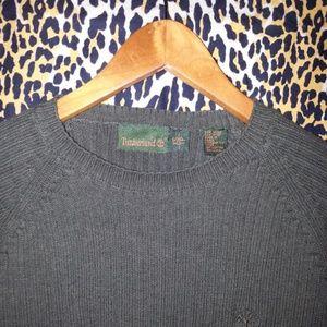 Men's Timberland XS Green Crew Neck Sweater